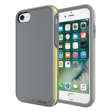Husa Apple iPhone 8/7 Incipio Performance [Ultra] grey/yellow