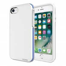 Husa Apple iPhone 8/7 Incipio Performance [Ultra] white/blue
