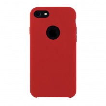 Husa Premium Liquid Silicon iPhone 7 / 8 Red