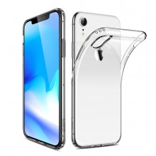 Husa de protectie slim de silicon Apple iPhone Xr CYOO Clear (bulk)