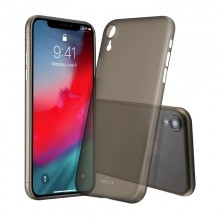 Husa Apple iPhone Xr UltraSlim NEVOX StyleShell Air Black Matte