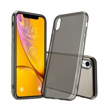 Husa Apple iPhone Xr Slim NEVOX StyleShell Flex Clear/Black