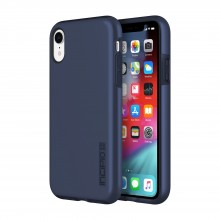 Husa Apple iPhone Xr dual layer Incipio DualPro midnight blue