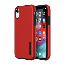 Husa Apple iPhone Xr dual layer Incipio DualPro Red/Black
