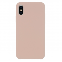 Husa iPhone Xs/X silicon JT Berlin Steglitz Pink