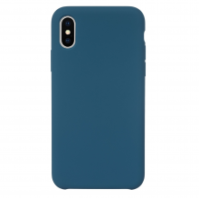 Husa iPhone Xs/X silicon JT Berlin Steglitz Blue