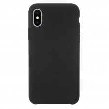 Husa iPhone Xs/X silicon JT Berlin Steglitz Black