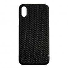 Husa de Carbon Apple iPhone Xs NEVOX Black