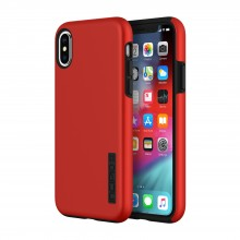 Husa dual layer Incipio Apple iPhone Xs/X DualPro Red/Black