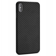 Husa Premium Kevlar Apple iPhone Xs NEVOX Aramid black