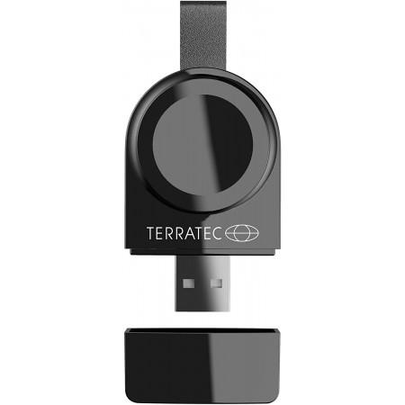 Incarcator wireless Magnetic pentru Apple Watch TerraTec ChargeAir, negru