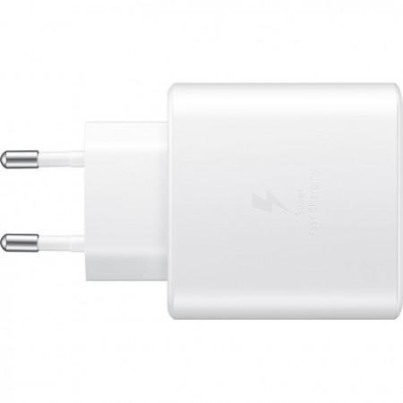 Incarcator Samsung Super Fast Travel Charger, 45W, USB-C, White