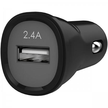 Incarcator auto rapid Kanex 2.4A, 12W, negru