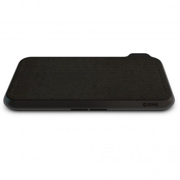 Statie de incarcare cu 16 bobine Zens Liberty Fabric Edition pentru Samsung, iPhone, Apple Watch si Apple Airpods, Qi