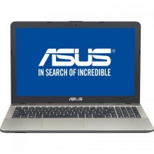 "Laptop ASUS A541UA-DM1950, Intel HD Graphics 620, RAM 4GB, SSD 256GB, Intel Core i3-7100U, 15.6"", No OS, Chocolate Black"