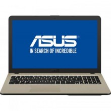 "Laptop ASUS VivoBook 15 X540NA-GO067, Intel HD Graphics 500, RAM 4GB, HDD 500GB, Intel Celeron Dual-Core N3350, 15.6"", Endless OS, Chocolate Black"