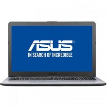 "Laptop ASUS VivoBook 15 X542UA-DM523, Intel UHD Graphics 620, RAM 4GB, SSD 256GB, Intel Core i5-8250U, 15.6"", No OS, Grey"
