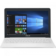 "Laptop ASUS VivoBook E12 E203NA-FD115TS, Intel HD Graphics 500, RAM 4GB, eMMC 32GB, Intel Celeron Dual-Core N3350, 11.6"", Windows 10, Pearl White + Office 365 Personal 1an"