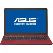 "Laptop ASUS VivoBook X541UA-GO1709, Intel HD Graphics 620, RAM 4GB, HDD 500GB, Intel Core i3-7100U,15.6"", Endless OS, Red"