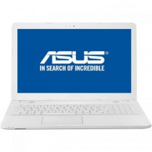 "Laptop ASUS X541UV-GO1485, nVidia GeForce 920MX 2GB, RAM 4GB, HDD 500GB, Intel Core i3-7100U, 15.6"", Endless OS, White"
