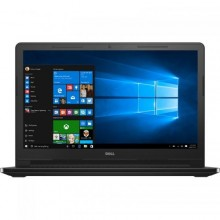 "Laptop DELL Inspiron 3552, Intel HD Graphics 400, RAM 4GB, HDD 500GB, Intel Celeron Dual Core N3060, 15.6"", Windows 10, Black"