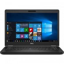 "Laptop Dell Latitude 5590, Intel HD Graphics 620, RAM 4GB, HDD 500GB, Intel Core i3-7130U, 15.6"", Windows 10 Pro, Black"