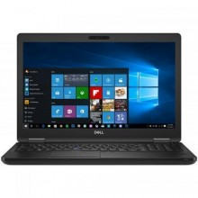 "Laptop Dell Latitude 3590, Intel UHD Graphics 620, RAM 8GB, SSD 256GB, Intel Core i5-8250U, 15.6"", Windows 10 Pro, Black"