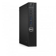 Sistem Desktop Dell OptiPlex 3050 Micro, Intel HD Graphics 630, RAM 8GB, SSD 256GB, Intel Core i5-7500T, Windows 10 Pro