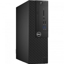 Sistem Desktop Dell OptiPlex 3050 SFF, Intel HD Graphics 630, RAM 8GB, SSD 256GB, Intel Core i5-7500, Windows 10 Pro