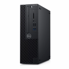 Sistem Desktop DELL OptiPlex 3060 SFF, Intel UHD Graphics 630, RAM 8GB, SSD 256GB, Intel Core i5-8500, Windows 10 Pro