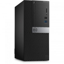 Sistem Desktop DELL OptiPlex 5050 MT, Intel HD Graphics 630, RAM 8GB, SSD 256GB, Intel Core i5-7500, Linux