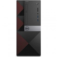 Sistem Desktop Dell Vostro 3668 MiniTower, Intel HD Graphics 630, RAM 8GB, SSD 256GB,, Intel Core i5-7400 Windows 10 Pro