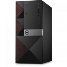 Sistem Desktop Dell Vostro 3668 MiniTower, nVidia GeForce GT710 2GB, RAM 8GB, HDD 1TB, Intel Core i5-7400, Windows 10 Pro