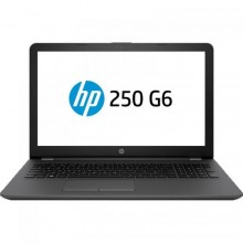 "Laptop HP 250 G6, AMD Radeon 520 2GB, RAM 8GB, HDD 1TB, Intel Core i3-6006U, 15.6"", Free Dos, Dark Ash Silver"