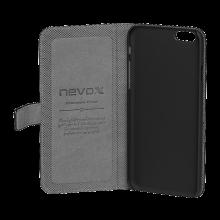 Husa de piele NEVOX Ordo Book pentru Apple iPhone 6 Plus/6s Plus, Black
