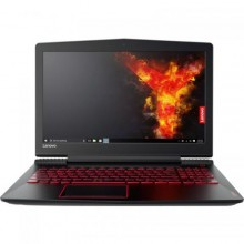 "Laptop Lenovo Legion Y520, nVidia GeForce GTX 1050 2GB, RAM 4GB, HDD 1TB, Intel Core i5-7300HQ, 15.6"", Free Dos, Black"