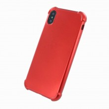 Husa iPhone X/Xs 360 Full Cover Red