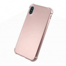 Husa iPhone X/Xs 360 Full Cover Rose Gold