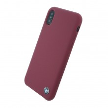 Husa BMW Signature Apple iPhone Xs/X Bordo
