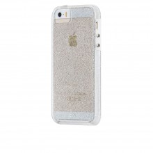 Husa Fashion Case-Mate Sheer Glam pentru Apple iPhone SE/5s/5, Champagne