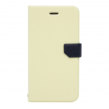 Husa book Fenice Diario Ver.2 Apple iPhone 6/6S, Ivory/Navy