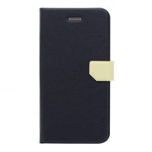 Husa book Fenice Diario Ver.2 Apple iPhone 6/6S, Navy/Ivory