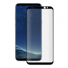 Folie de sticla NEVOX 3D Full Cover Samsung Galaxy S8 Plus Black