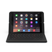 Husa cu tastatura ZAGG Messenger Folio Wireless Bluetooth Apple iPad 9.7 (2017) & iPad 9.7 (2018)