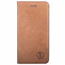 Husa de piele iPhone 8/7 JT Berlin Book Magic Cognac