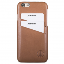 Husa de piele JT Berlin Cover Style Apple iPhone 7, Cognac