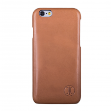 Husa de piele Premium JT Berlin Cover Style Pure Apple iPhone 6/6s, Cognac
