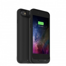 Carcasa cu acumulator 2525mAh si incarcare wireless Mophie Juice Pack Air Apple iPhone 7, Black