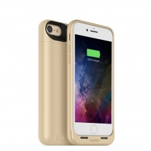 Carcasa cu acumulator 2525mAh si incarcare wireless Mophie Juice Pack Air Apple iPhone 7, Gold