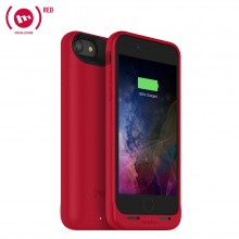 Carcasa cu acumulator 2525mAh si incarcare wireless Mophie Juice Pack Air Apple iPhone 7, Red